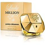 Paco Rabanne Lady Million femme / woman, Eau de Parfum, Vaporisateur / Spray 80 ml, 1er Pack (1 x 80 ml)