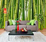 (99x164) Bamboo Forest Huge Wall Mural