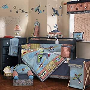 Lambs & Ivy Wings 6 Piece Bedding Set