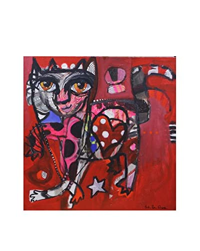 Frederic Pissarro Gallery Wrapped Print Love Cat, Multi