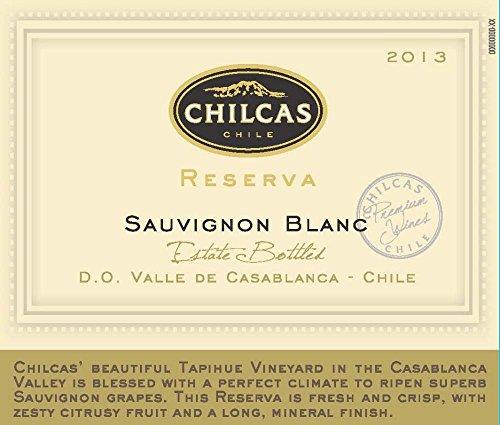 2013 Chilcas Reserva Valle De Casablanca Chile Sauvignon Blanc 750 Ml