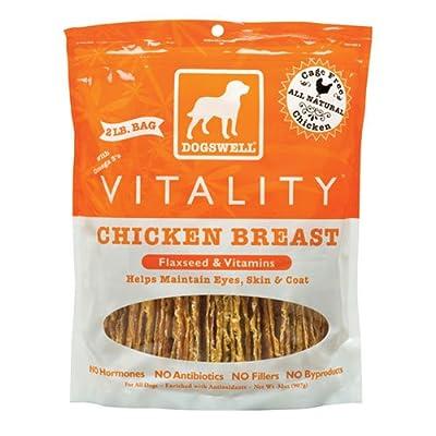 Dogswell Vitality Jerky Treats - Chicken - 32 oz.