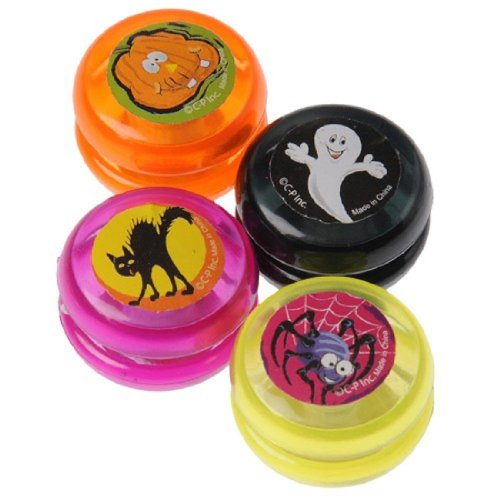 Dozen Assorted Halloween Theme Mini Yoyo's
