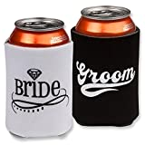 Wedding Accessories Bride and Groom Can Coolers