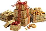 Broadway Basketeers Gourmet Gift Tower of Sweets (Medium)