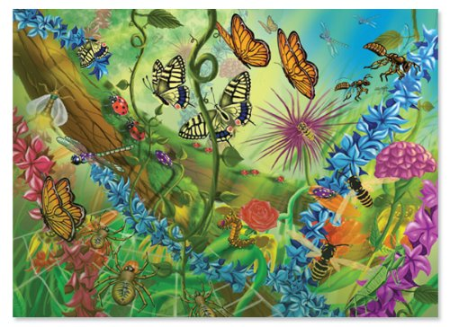 Melissa-Doug-World-of-the-Bugs-Jigsaw-Puzzle-60-Piece