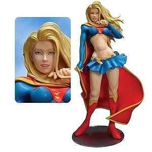 Supergirl Vinyl Statue by Kotobukiya