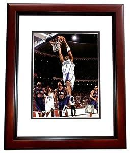 Tracy McGrady Autographed Hand Signed Orlando Magic 8x10 Photo MAHOGANY CUSTOM FRAME by Real Deal Memorabilia