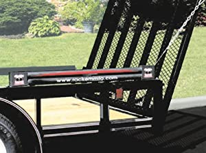 "Double Barrel ""Chain Driven"" Trailer Gate Lift Assist by Rack'em"