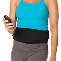 The Flex Belt Flex System Abdominal Toning Belt, Black