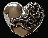 CHROME HEARTS HEART BELT BUCKLE クロムハーツ ハート ベルトバックル