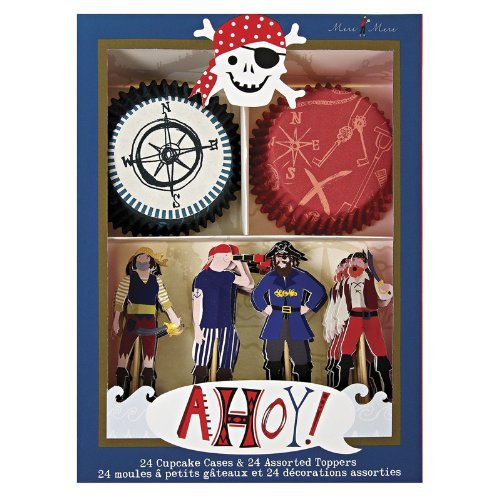 Meri Meri Cupcake Kits, Ahoy There Pirate