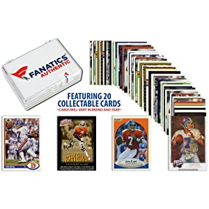 John Elway Denver Broncos Collectible Lot of 20 NFL Trading Cards - Memories -... by Sports Memorabilia