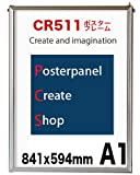 CR511ポスターフレーム A1 サイズ 841x594mm