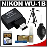 Nikon WU-1b Wireless Mobile Adapter for D600 DSLR Camera Sends Images Directly to your iPhone or Android Smartphone or iPad Tablet + Tripod Kit