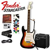 Starcaster by Fender Electric Guitar/Amp Package - Sunburst Finish