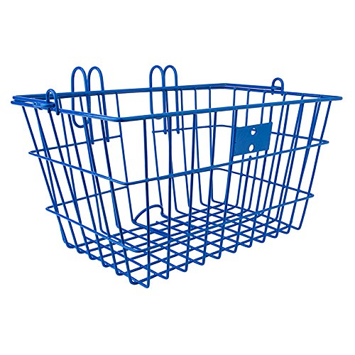 Sunlite Wire Lift-Off Front Basket, Blue