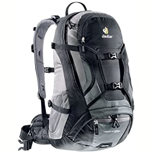 deuter rucksack trans alpine 32 el black granite sport. Black Bedroom Furniture Sets. Home Design Ideas