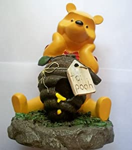 winnie the pooh bee hive hunny garden statue outdoor statues patio lawn garden. Black Bedroom Furniture Sets. Home Design Ideas