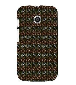 Footprint Pattern 3D Hard Polycarbonate Designer Back Case Cover for Motorola Moto E XT1021 :: Motorola Moto E (1st Gen)