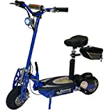 Super Turbo 1000-Lithium Electric Scooter &quot;BLUE&quot;