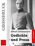 Gedichte und Prosa (Großdruck) (German Edition)