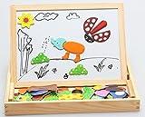 (エイチケーエイチ) HKH 動物集合 木製 動物 パズル おもちゃ キッズ 子供 飾り マグネット アニマル (B)