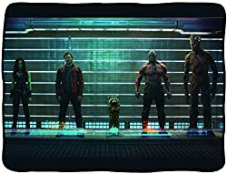 Officially Licensed Marvel Guardians of the Galaxy Fleece Throw Blanket (Guardians of the Galaxy Lineup)