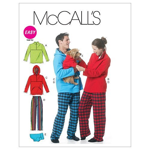 mccalls-patterns-m6252-misses-mens-teen-boys-tops-pants-and-dog-blanket-size-z-lrg-xlg-by-mccalls-pa
