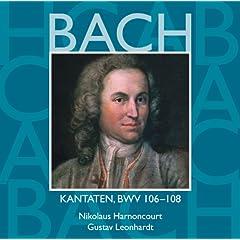 """Cantata No.107 Was willst du dich betr�ben BWV107 : III Aria - """"Auf ihn magst du es wagen"""" [Bass]"""