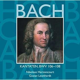 """Cantata No.106 Gottes Zeit ist die allerbeste Zeit [Actus tragicus] BWV106 : III Aria - """"In deine H�nde"""" [Boy Soprano] - Aria & Chorale - """"Heute wirst du mit mir"""" [Boy Soprano, Bass]"""