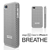 elago S4 BREATHE Case for AT&T and Verizon iPhone 4 (Silver)