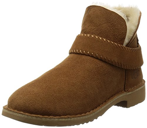 ugg-australia-womens-mckay-womens-chestnut-leather-ankle-boots-in-size-36-brown
