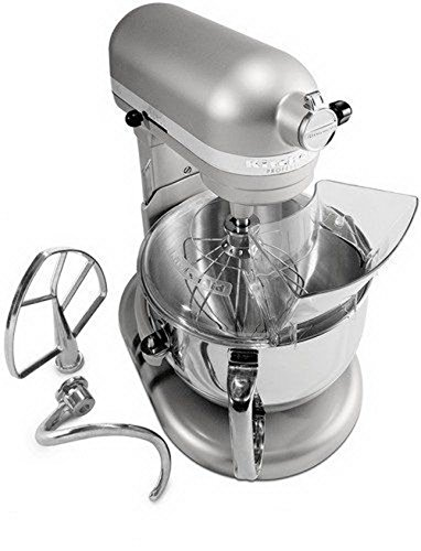 KitchenAid RKP26M1Xnp Pro 600 Stand Mixer 6 qt Nickel Pearl BIG Large Capacity (Kitchen Aid Stand Mixer Big compare prices)
