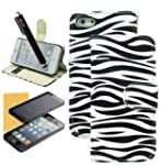 M-LV iPhone 4S 4 4G Fashional Zebra S...