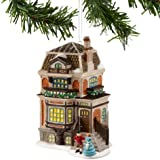 Dickens A Christmas Carol Village from Department 56 Fred Hallowell's House, Mini