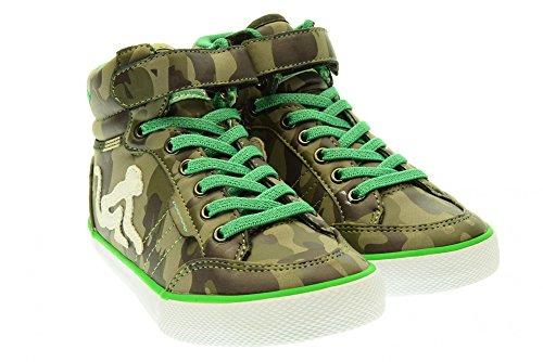 DRUNKNMUNKY junior sneakers alte BOSTON CAMU 229 CAMU/GREEN