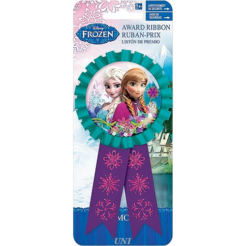 Disney Frozen Award Ribbon 1 Ct (4 Piece/Pack) - 211416