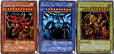 Sky Dragon GBI-001 of Yu-Gi-Oh [English version] Osiris, Giant soldier GBI-002 Obelisk, wing God Dragon GBI-003 of error (secret rare) set of 3 (japan import)