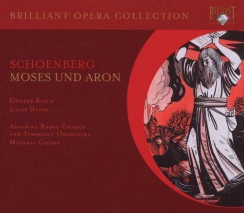 Moses Und Aron - Arnold Schönberg - CD