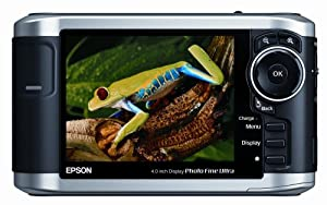 Epson P-3000 40GB Multimedia Storage Drive, Viewer, and Audio-Video Player w/ 4-Inch LCD