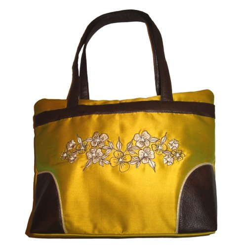 Aura Bags Handbag (Yellow)