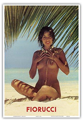 fiorucci-fille-nue-sur-la-plage-vintage-advertising-poster-c1970s-reproduction-professionelle-dart-m