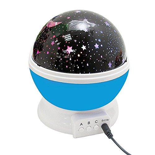 MOCREO(モクリオ) LEDインテリアライト イルミネーション 投影ランプ 夜空プロジェクター クリスマスムード (ブルー)