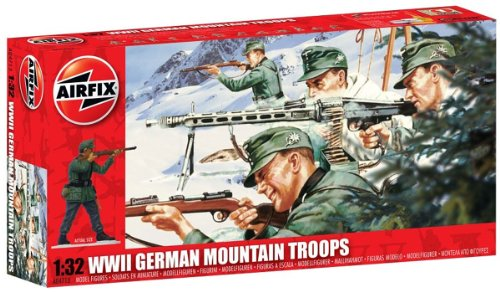 Buy Low Price Hornby Airfix A04713 WWII German Mountain Troops 1:32 Scale Military Series 3 Figures (B0044Z8EN2)