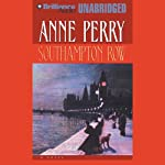 Southampton Row: A Charlotte and Thomas Pitt Novel (       UNABRIDGED) by Anne Perry Narrated by Michael Page