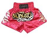 Classic Muay Thai Pantalones Boxeo Tailandes : CLS-005 Talla XXL