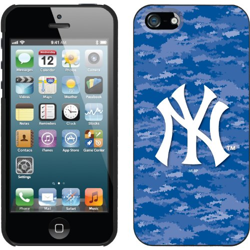 Great Sale New York Yankees - Digi Camo Color design on a Black iPhone 5s / 5 Thinshield Snap-On Case by Coveroo