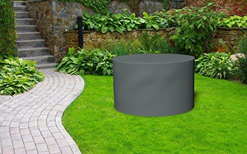 kaiserlich24 premium abdeckplane f r gartentisch rund. Black Bedroom Furniture Sets. Home Design Ideas