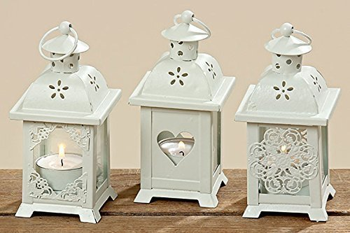 Laterne-mit-Herz-3er-Set-Windlicht-Holz-Gartendeko-Shabby-Kerze-Teelicht